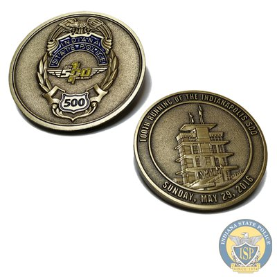 Indianapolis 500 Challenge Coin